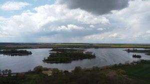 wyspy nad jeziorem Bytyńskim