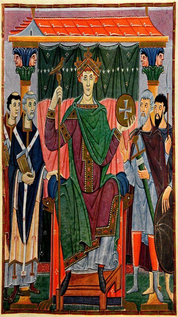 Otton III na wyspie Komorowskiej